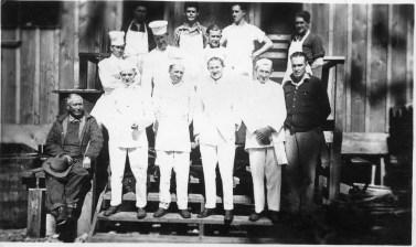 CCC Camp Kitchen Crew. Photo courtesy of Oregon State University, public domain