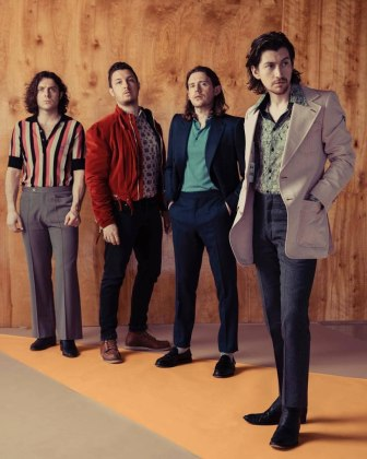 Arctic Monkeys. Фото: Austin Hargrave для The Sunday Times