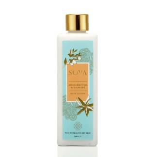 SHEA BUTTER & KUMARI BODY LOTION FOR NORMAL TO DRY SKIN - 100 mL