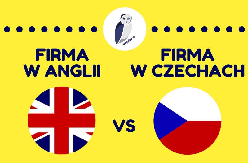 Firma w Anglii i Firma w Czechach – Porównanie