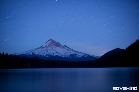 Mount Hood, Trinity Lake, Oregon