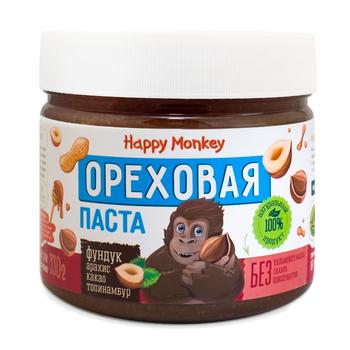 """Ореховая паста из фундука """"Happy Monkey"""""""