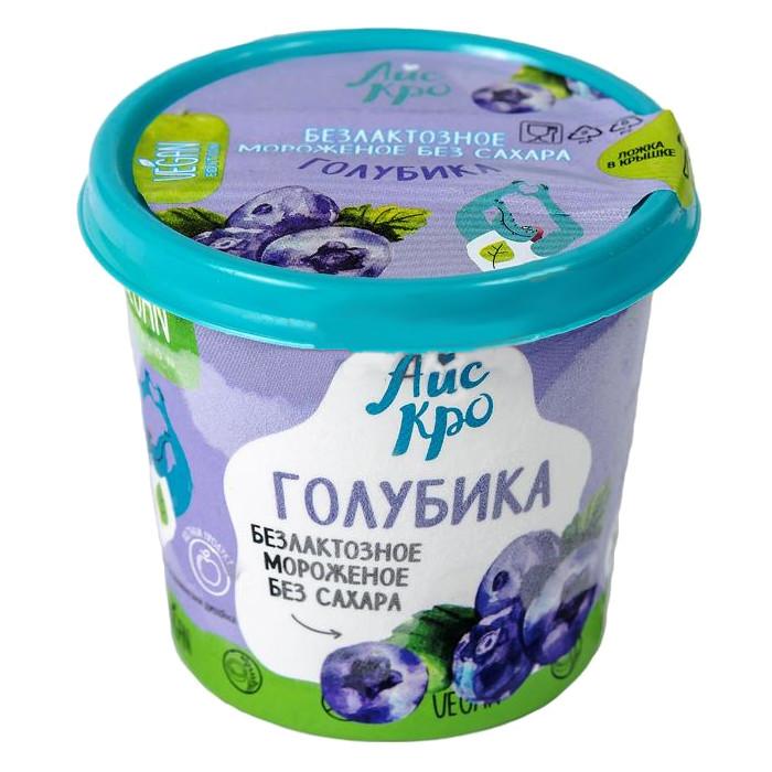 """Мороженое веганское """"Голубика"""" без сахара"""