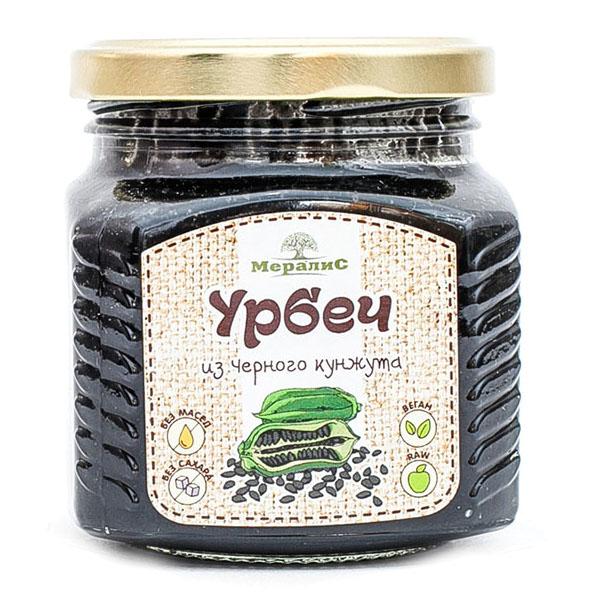 """Урбеч из семян чёрного кунжута """"Мералис"""""""
