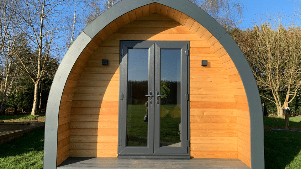 Sovereigh Modular Buildings - Glamping Pod exterior picture 1