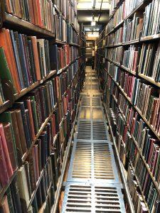 London Library, Backstacks