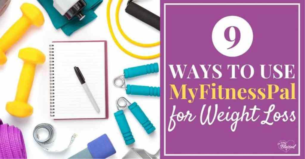 Scattered notebook, hand weights, and other weight loss equipment - 9 Ways to Use MyFitnessPal for Weight Loss