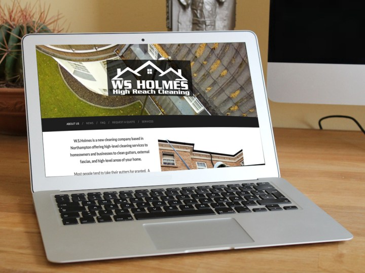 WS Holmes mobile responsive website