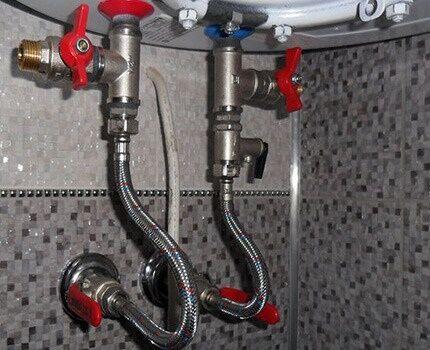 Algoritmo de drenagem de água de um aquecedor de água