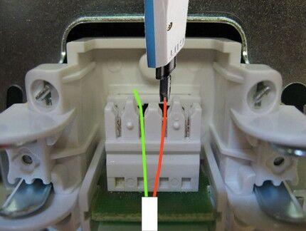 Polaridade ao remover fios