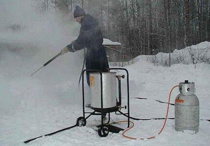 Dampgenerator - Professionelt udstyr