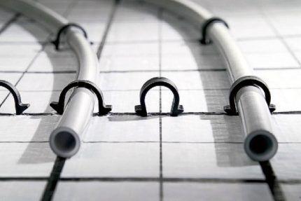 Montering av harpun-konsol