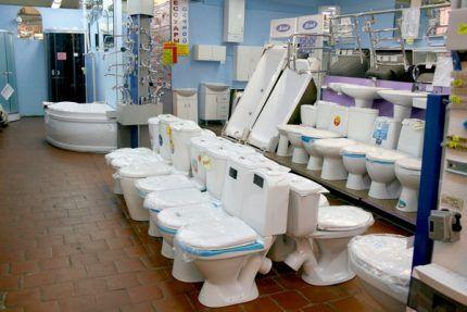 Selectarea toaletei