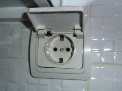 Outlet pour machine à laver