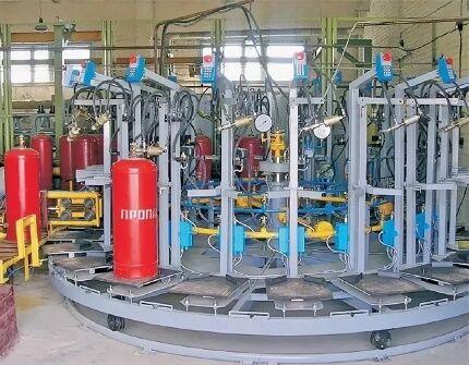 تجهیزات ایستگاه گاز