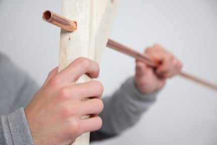 Installera en stång