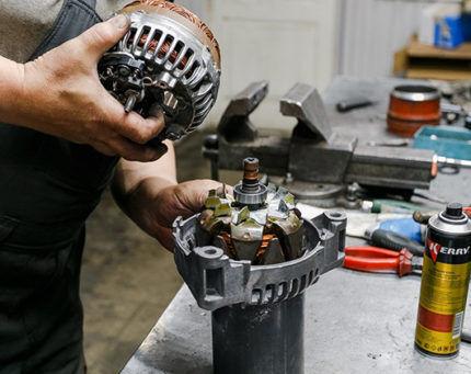 تعمیر موتور