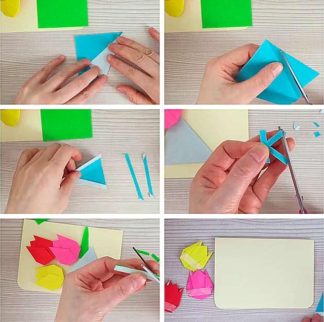 Фильма девчата, как сделать из бумаги открытку на день рождения бабушке