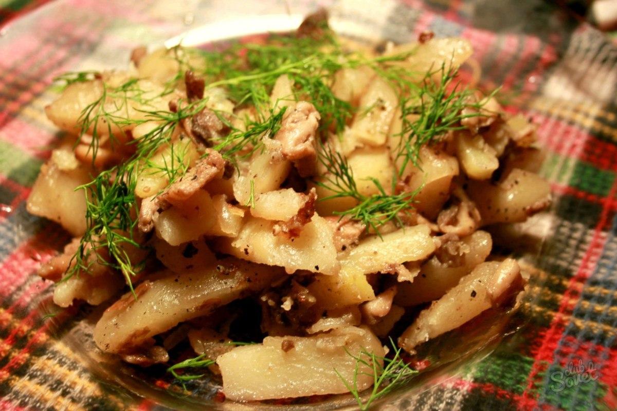 Сколько калорий в тарелке жареной картошки