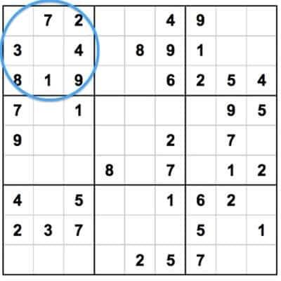 Как играть в судоку | Как разгадывать судоку: правила и секреты, как играть, способы и стратегии решения