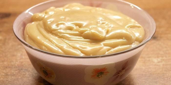 ماست کیک شیر تغلیظ شده