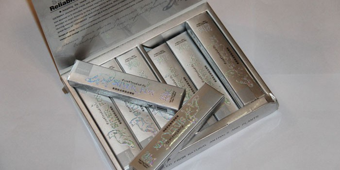 Препарат Серебряная лиса в упаковке