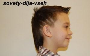 причёски для мальчиков с рисунками на висках