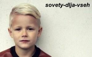 причёски мальчикам на короткие волосы