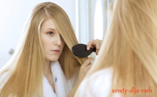 чем лучше расчесывать волосы