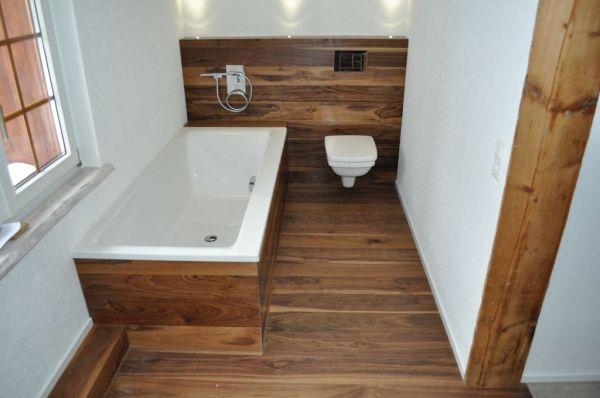 Дизайн ванной комнаты под дерево (фото) – идеи интерьера