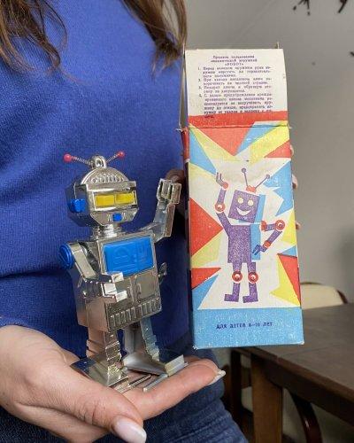 Robot Soviétique Neuf – Boîte