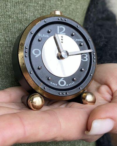 Horloge Aveugle Malvoyant – URSS – Mécanique Réveil