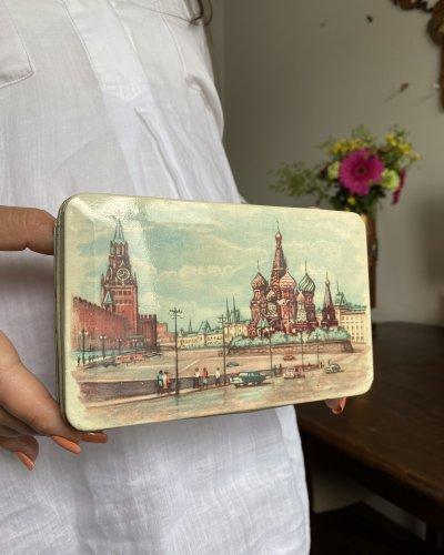 Boîte Métal – Biscuit – Kremlin – URSS