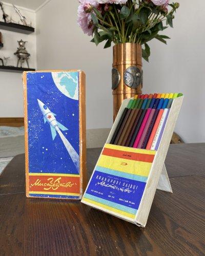 Crayons – Années 60 – Conquête Spatiale – Vostok