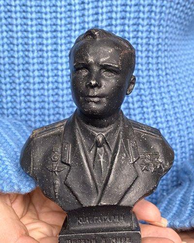 Buste Youri Gagarin URSS – Aluminium 1962 Leningrad