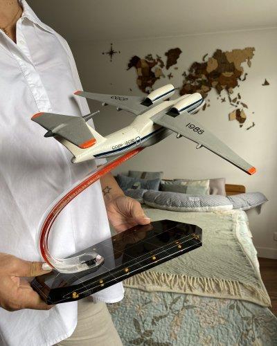 Modèle Aluminium Antonov-72 – Aeroflot – URSS