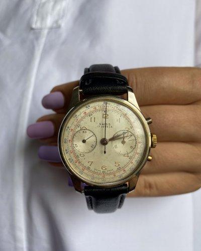 Montre Chronographe – Swiss Made – Années 40