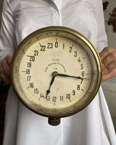 Horloge Militaire Marine Soviétique – Sous-marin – Léningrad – 24 Heures