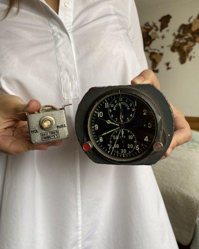 Horloge de Cockpit Soviétique – Numéro 45423