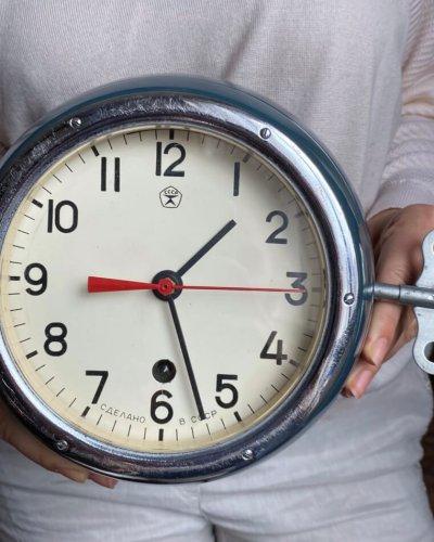 Horloge de navire – Marine Soviétique – 8 Jours – 1970