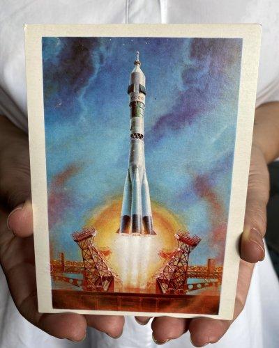 Lot de 30 Cartes postale – Conquête Spatiale URSS – 1978