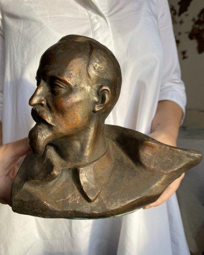 Rare Buste – Felix Dzerzhinsky – Cuivre