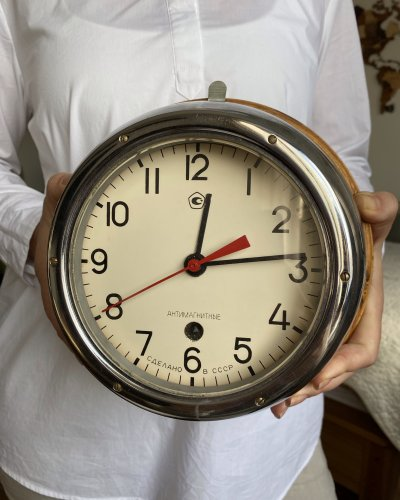 Horloge Marine Soviétique – 1988 – Antimagnétique