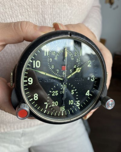 Horloge de Cockpit Soviétique – numéro 22096
