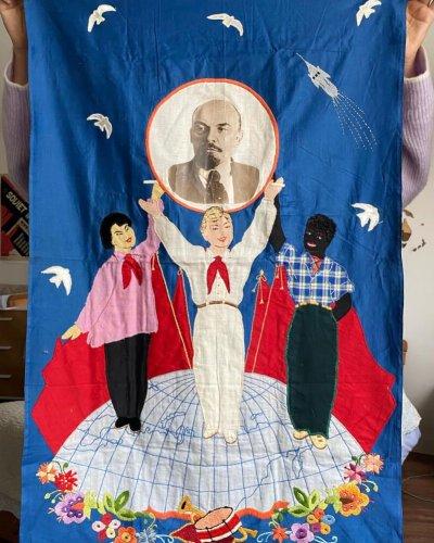 Broderie Propagande – Léningrad – 1959