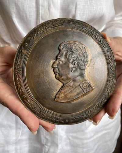 Bas Relief Bronze – Staline
