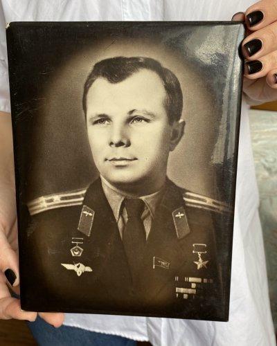 Portrait Yuri Gagarin – Année 1968