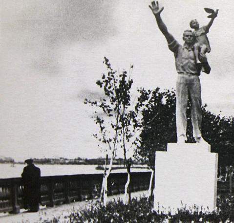Archangelsk - Monument und Spaziergänge