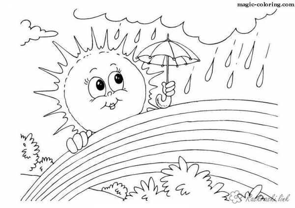 Раскраска для детей природы – Печатать раскраски природы ...