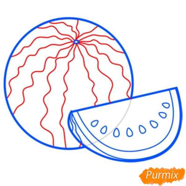 Рисунок арбуз для детей – Скачать бесплатно качественные ...